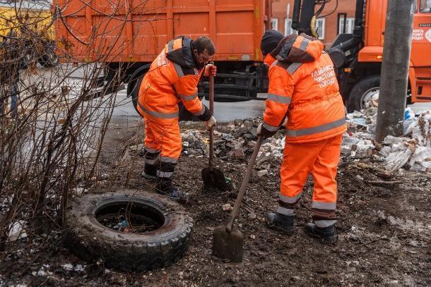 До конца января власти Краснодара обещают очистить город от мусора