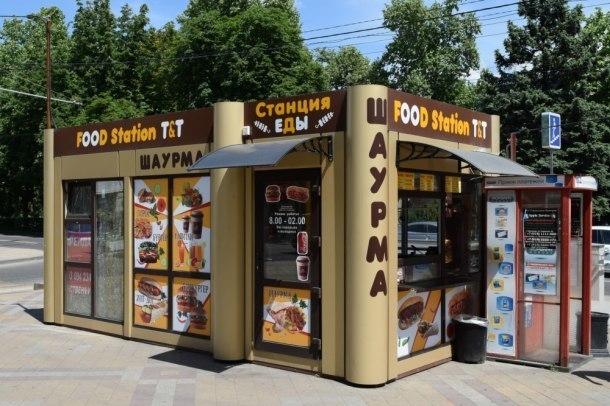 Краснодарская администрация нанесла ответный удар по незаконным ларькам