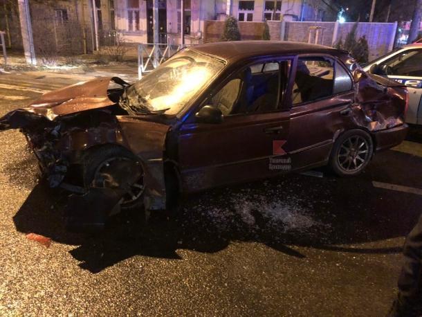 Авария в центре Краснодара унесла жизнь одного мужчины
