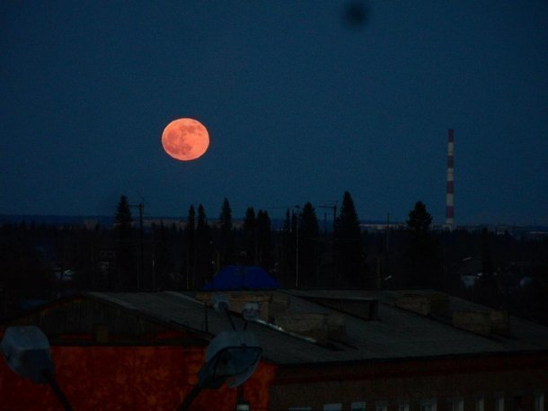 На Кубани увидят кровавую луну