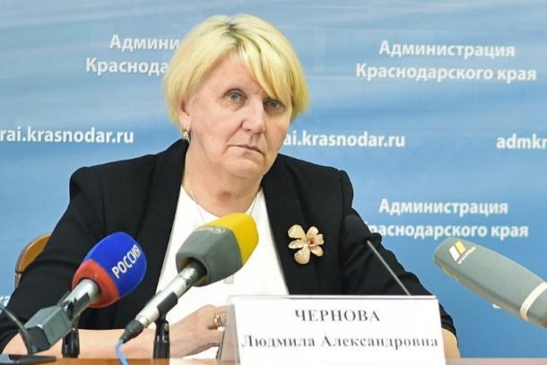 Против министра спорта Кубани Черновой снова возобновили уголовное  дело