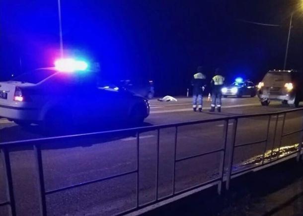 Под Краснодаром иномарка насмерть сбила пешехода