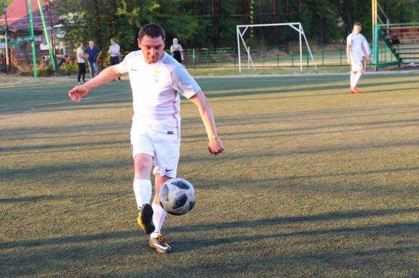 Болеющий за сборную Испании мэр Первышов сыграл в футбол с краснодарцами