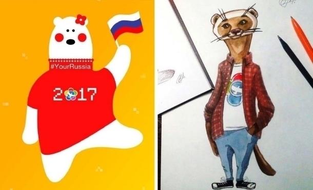 Всети интернет стартовало голосование заталисман фестиваля молодежи истудентов вСочи