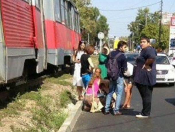 ВКраснодаре женщину сбил трамвай