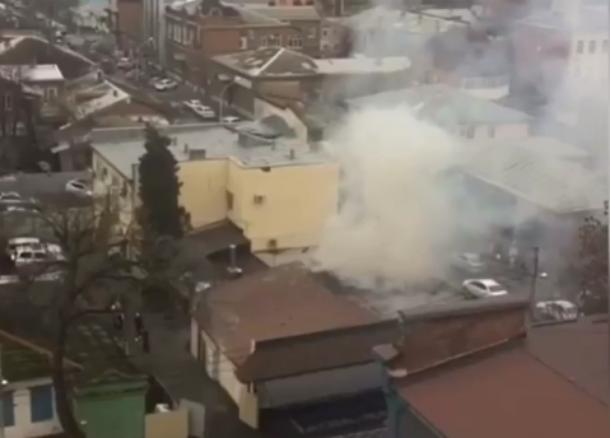 ВКраснодаре полыхает ресторан «The Печь»