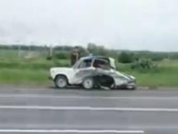 Из-за дерзкого водителя «шестерки» трое кубанских детей пострадали в ДТП