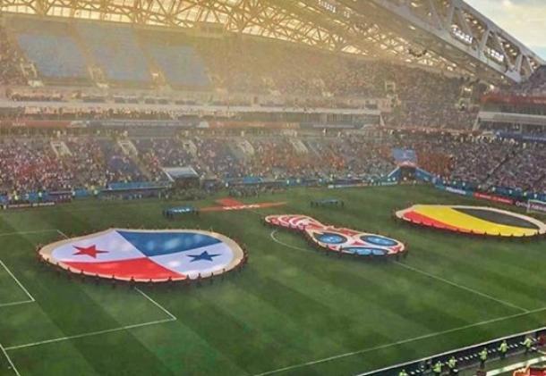 Матч Бельгия-Панама в Сочи посетили более 40 тысяч человек