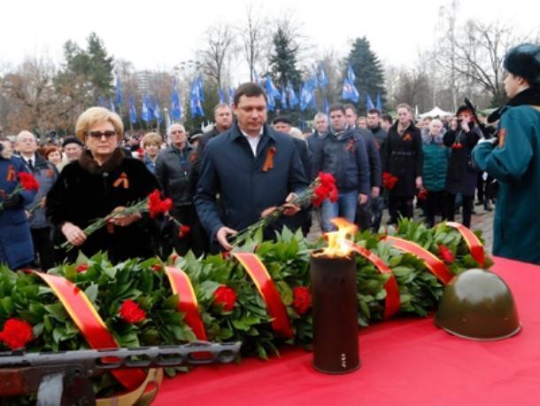 В Краснодаре торжественно начался военно-патриотический марафон