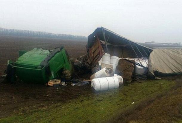 «ГАЗель» и грузовик столкнулись в Краснодарском крае