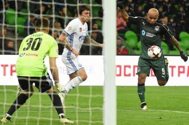 «Краснодар» только под конец игры смог сравнять счет в матче с «Оренбургом»