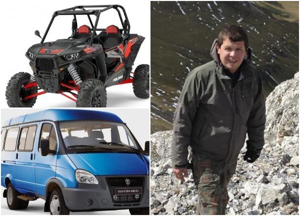 Снегоболотоход, грузовик и другие необычные транспортные средства депутата ЗСК Титова