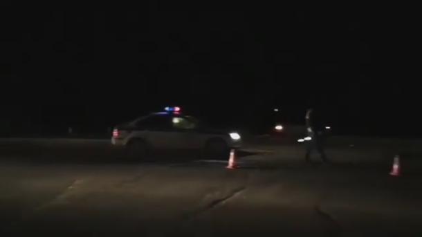 После столкновения машина несколько раз перевернулась и улетела в кювет на Кубани