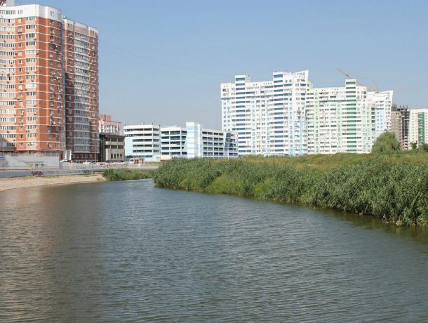 В Краснодаре приступили к созданию двух масштабных зон отдыха на берегу