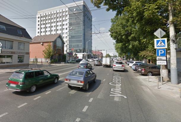 На улице Северной в Краснодаре запретят парковаться