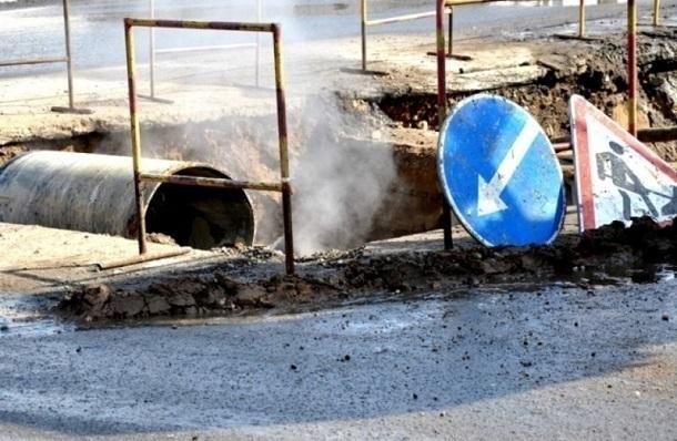ВКраснодаре починят участок теплотрассы вцентре города