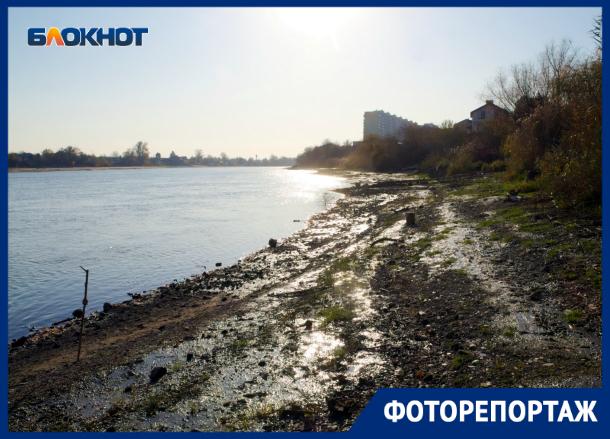 Реалии набережной Краснодара: прогуляться по грязи и поболтать с полицией