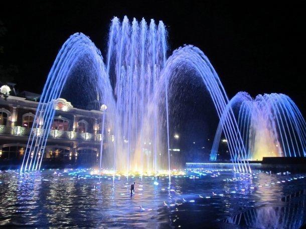 В Краснодаре можно будет купаться в фонтанах