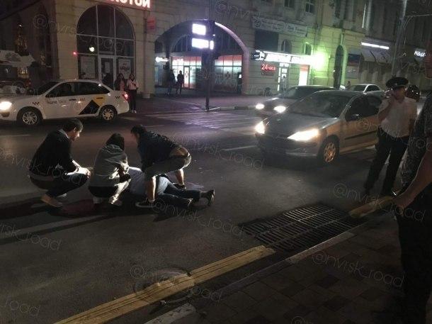 На «зебре» в Новороссийске сбили пешехода