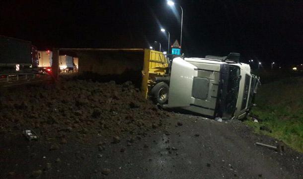 Шофёр Лада умер вДТП с грузовым автомобилем MAN вВыселковском районе