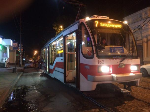 Работу трех трамвайных маршрутов временно сократили в Краснодаре