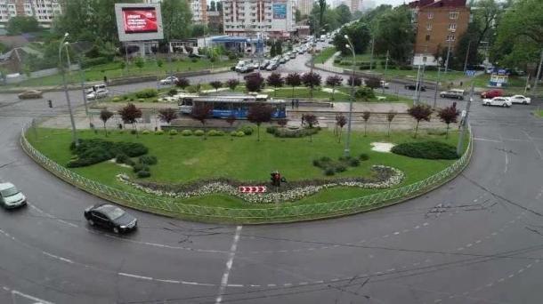 Светофоры отключат на Старокубанском кольце в Краснодаре