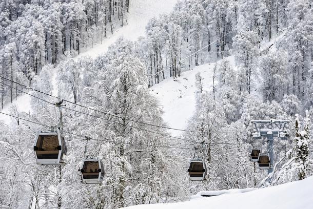 Более 100 горнолыжных трасс подготовили на Кубани
