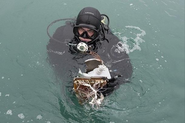 Водолазы нашли еще порядка 40 обломков Ту-154 у берегов Сочи