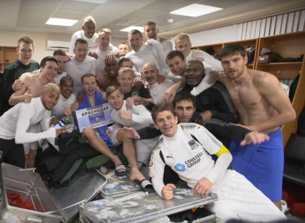 «Краснодар» за два сезона дошел до Премьер-Лиги
