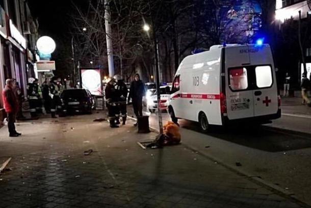 Два пешехода пострадали в ДТП в центре Краснодара