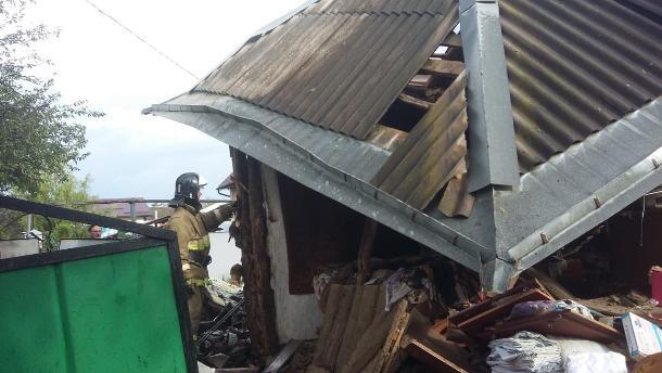 При взрыве газа в частном доме в Краснодарском крае пострадал один человек