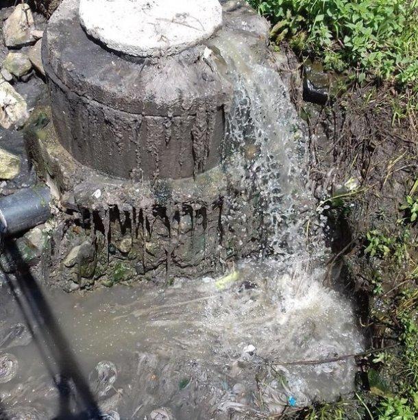 Нечистоты из канализации испортили пляж в Сочи