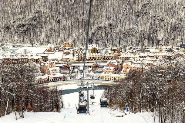 Единый ски-пасс ввели на горнолыжных курортах Сочи