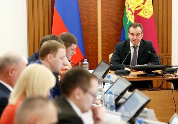 Губернатор Кубани поставил новые задачи в экономической сфере региона