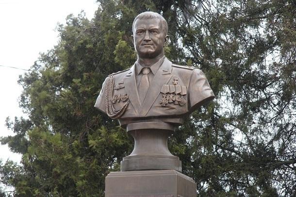 Памятник сбитому в Сирии летчику появился на Кубани