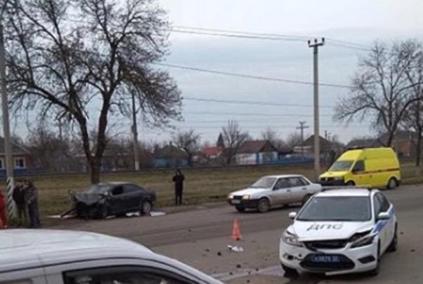 На Кубани в массовом ДТП погиб один человек