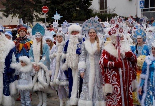 ВКурске пройдет шествие Дедов Морозов