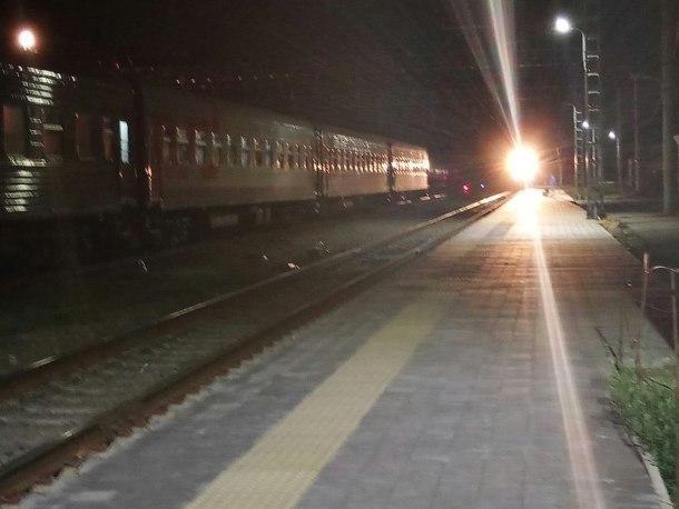 Пьяного пассажира сняли с поезда на Кубани, за это он побил полицейского