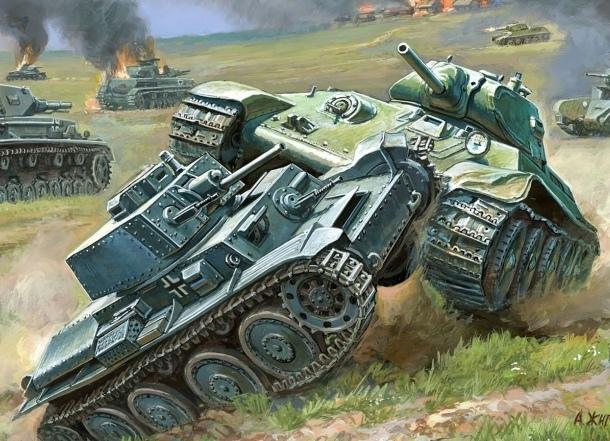 Танки Т-34 появятся на здании в Краснодаре