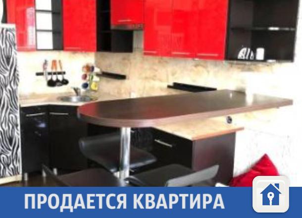Яркая и просторная квартира продается в Краснодаре