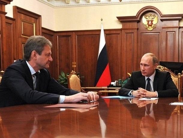 Владимир Путин рассказал, что и когда делать Александру Ткачеву, экс-губернатору Краснодарского края