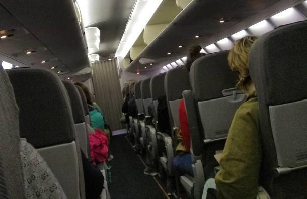 Вылет самолета Sukhoi Superjet отменили из Краснодара в Челябинск