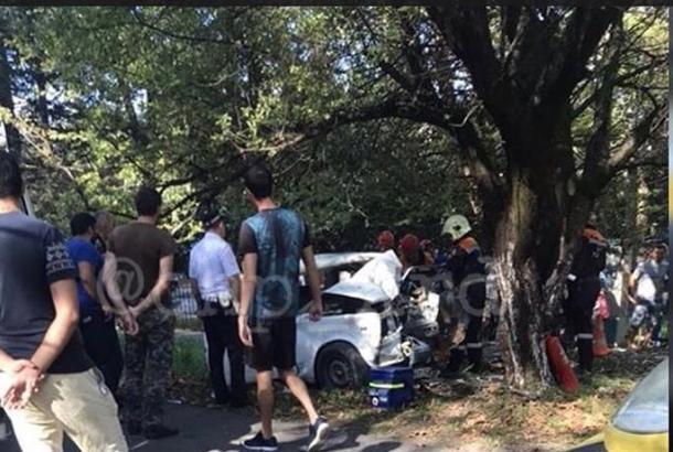 Водитель «жигулей» погиб под Туапсе, протаранив дерево