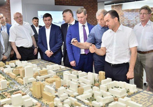 Кондратьев попросил доработать проект будущего исторического центра Краснодара