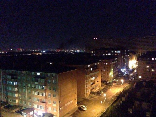 ВКраснодаре взорвался и зажегся Компрессорный завод