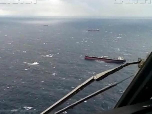 Водолазы не нашли моряков сухогруза, затонувшего на Кубани