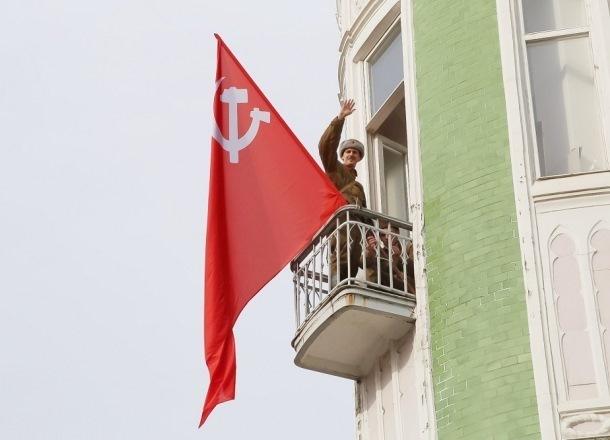 Реконструкцию событий ВОВ провели в Краснодаре