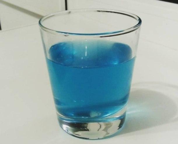 В Кущевской из крана потекла голубая вода