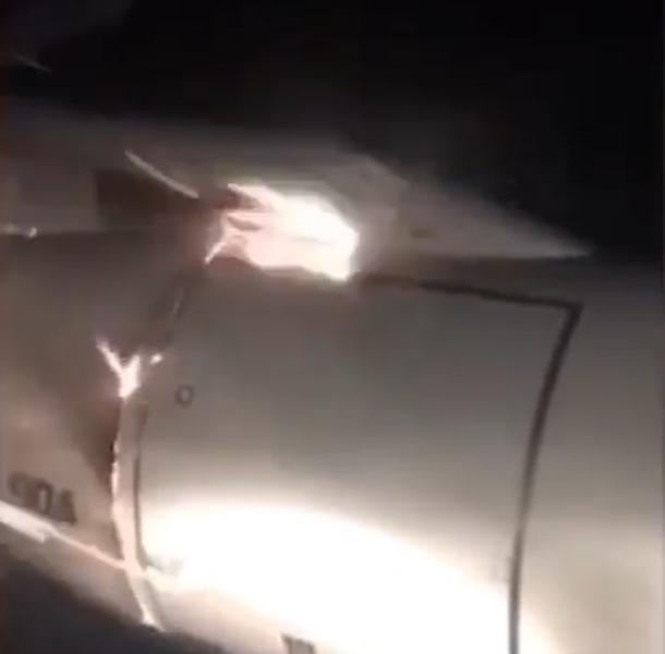Самолет не долетел до Сочи из Уфы: у него загорелся двигатель