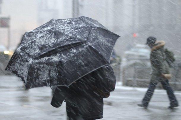 На Кубани объявили экстренное предупреждение из-за дождя, снега, мороза и сильного ветра